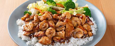 Chicken and Shrimp Teriyaki